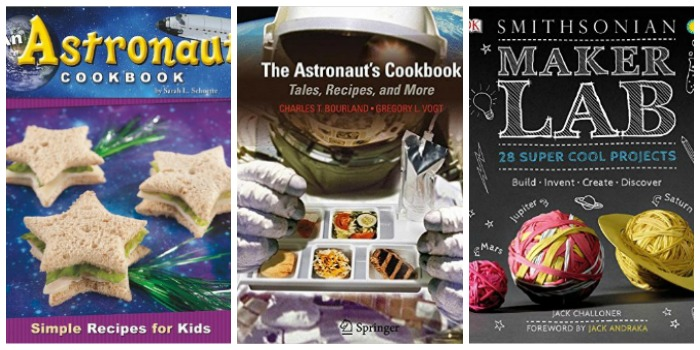 Astronaut Cookbooks and Space Science Experiments at Castle View Academy homeschool
