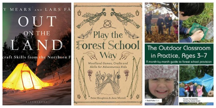 Forest School books at Castle View Academy homeschool