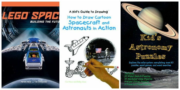 Fun space books for kids t Castle View Academy homeschool