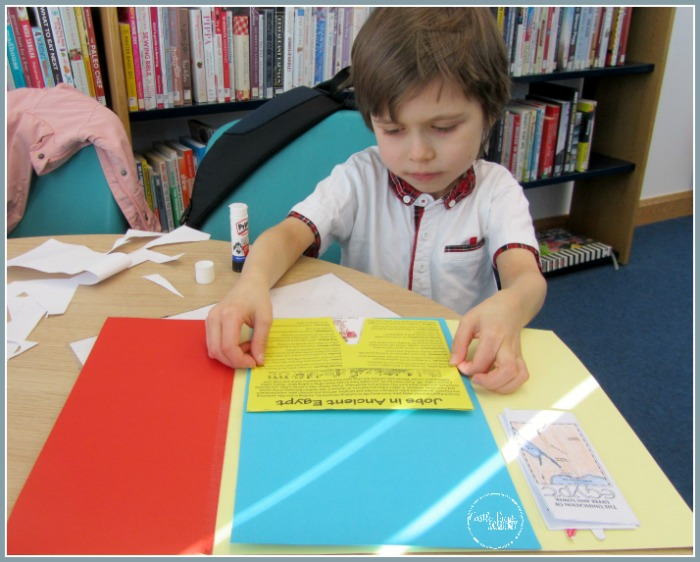 Getting hands-on at the library with Ancient Egypt and Castle View Academy homeschool