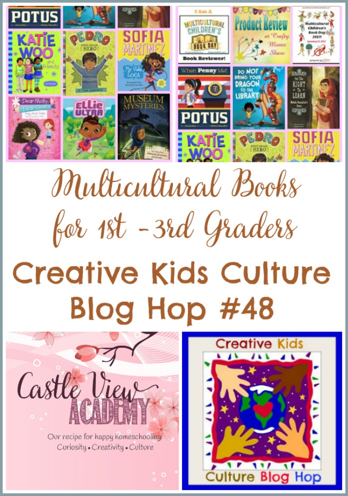 Multicultural Books for Grades 1-3 at Castle View Academy homeschool and CKCBH