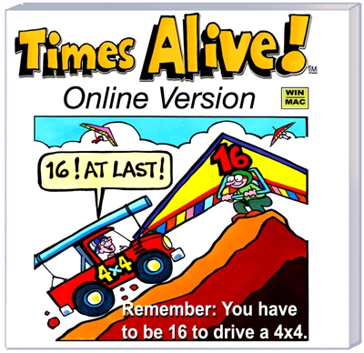 Times Alive Online Review by Castle View Academy homeschool