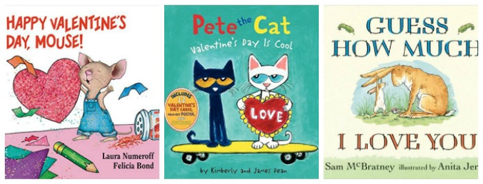Valentine's Day Board Books for kids at Castle View Academy homeschool