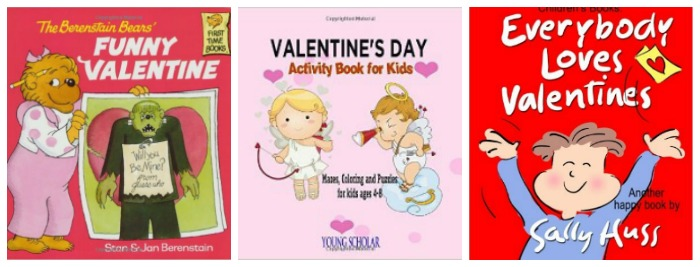 Valentine's Day books for kids at Castle View Academy homeschool