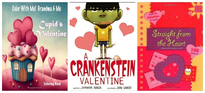Valentin'es books for kids at Castle View Academy.com
