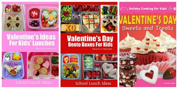 Valentine's lunch ideas at Castle View Academy homeschool