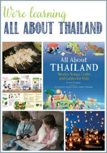 We're learning All About Thailand at Castle View Academy homeschool with books from Tuttle Publishing