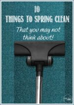 10 Things To Spring Clean- That You May Not Think About!