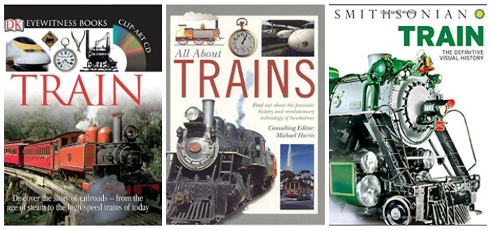 All About Trains at Castle View Academy homeschool
