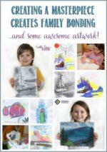 Creating a Masterpiece Creates Family Bonding