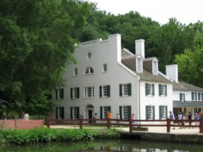 Heading west from BaltimoreWashington area is the Chesapeake & Ohio Canal National Historic Park where you can learn about the construction and operation of the canal