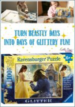Beauty And The Beast Puzzle: With Glitter!