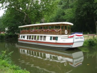 Visit the original Great Falls Tavern and even take a ride on a canal boat towed by mules