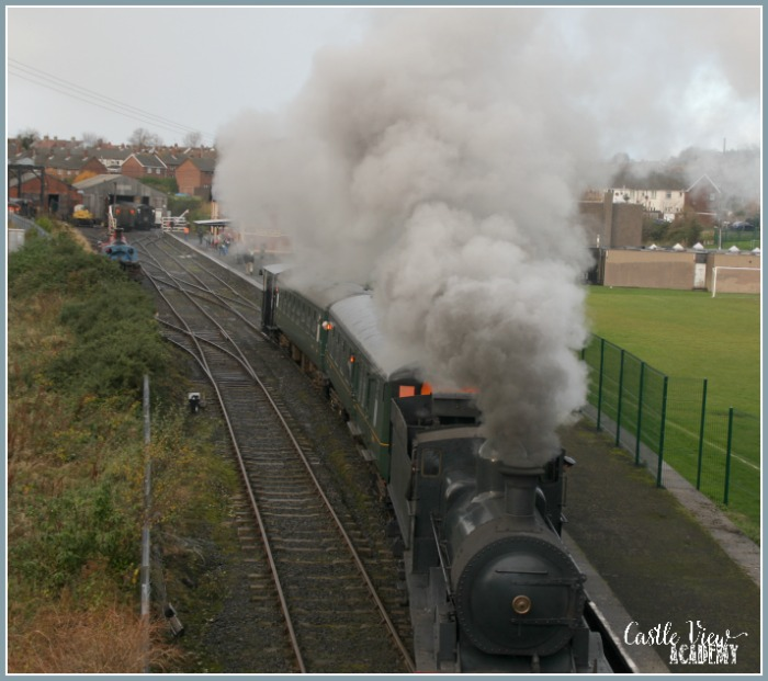 Whitehead Railway Museum and Castle View Academy homeschool