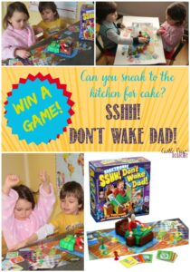 Sshh! Don't Wake Dad! A fun game with a #giveaway!