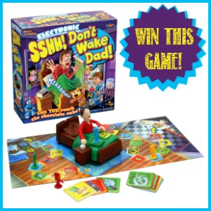 Win Sshh! Don't Wake Dad! at Castle View Academy homeschool this month