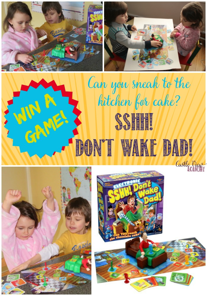 Win Sshh! Don't Wake Dad! at Castle View Academy homeschool