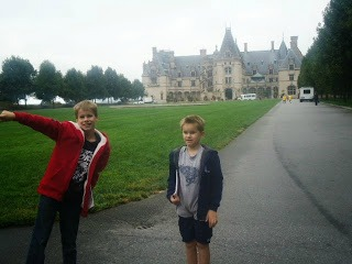 biltmore house, a postcard from North Carolina by Gypsy Road School for Castle View Academy homeschool