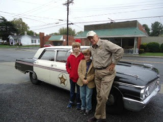 mayberry, a postcard from North Carolina by Gypsy Road School for CAstle View Academy homeschool