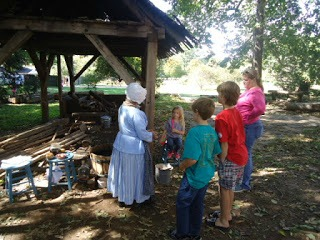 old salem, a postcard from North Carolina by Gypsy Road School for Castle View Academy homeschool