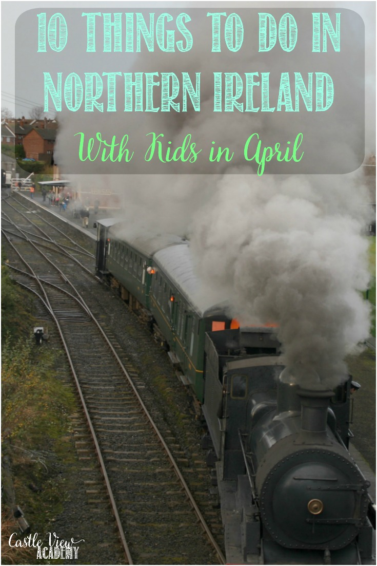 If you're in the area, or planning a future trip, here are some of the fun things to do in Northern Ireland in April with Kids #NorthernIreland #Belfast