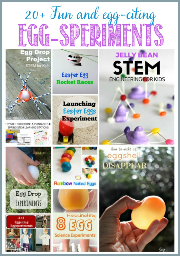 20+ fun and egg-citing egg experiments at Castle View Academy homeschool