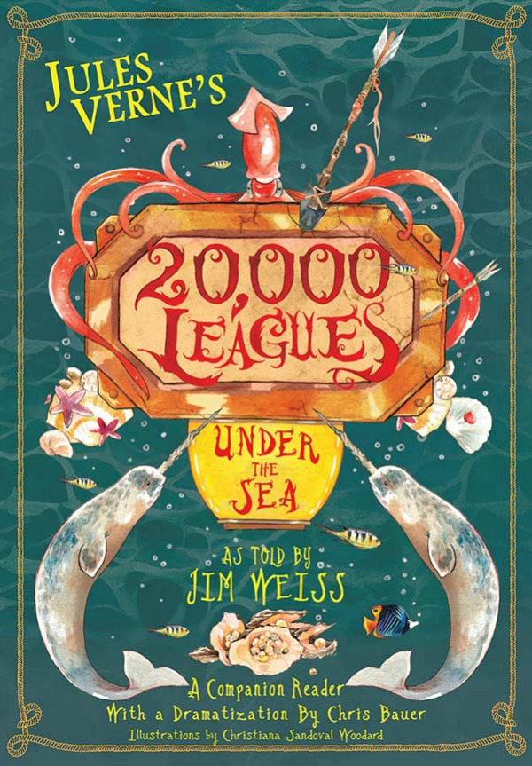 20,000 Leagues Under The Sea Companion Reader; a review by Castle View Academy homeschool