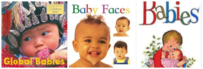 Books about babies at Castle View Academy homeschool