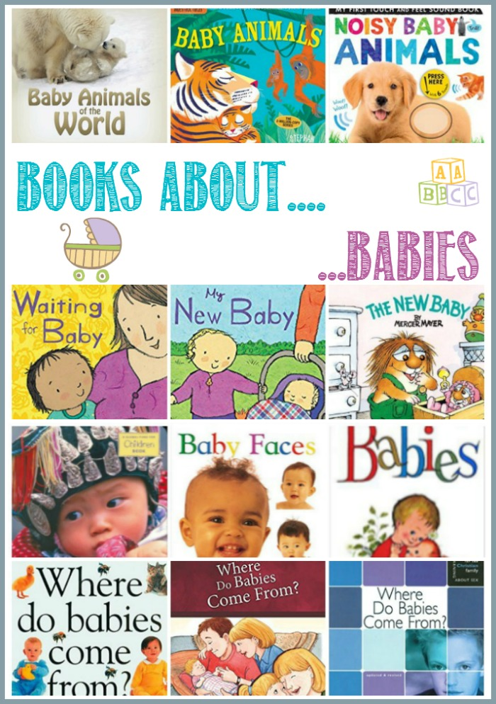 Books about babies at Castle View Academy