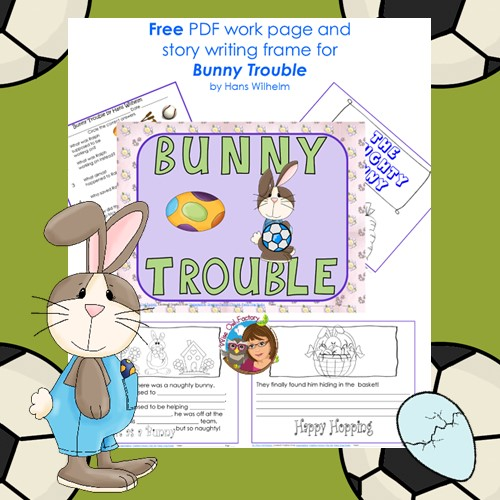 Bunny-Trouble-free-work-pages-PDF by The Wise Owl Factory