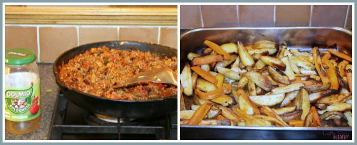 Cheesy Chilli Fries are fun to make, and delicious to eat when you use this recipe by Castle View Academy homeschool