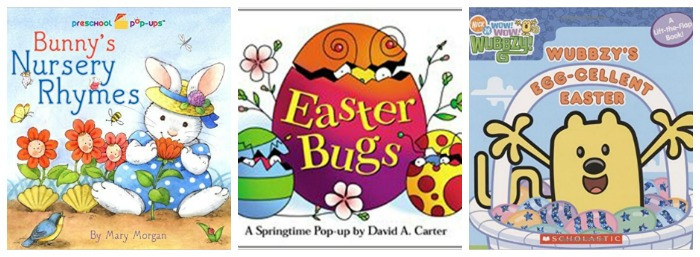 Easter Books for Toddlers at Castle View Academy homeschool