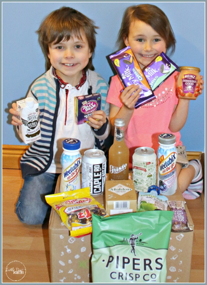 Easter Degustabox contents revealed by Castle View Academy homeschool