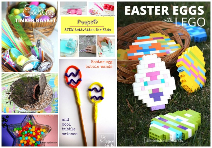 Easter Steam Activities for kids at Castle View Academy homeschool