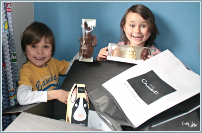 Easter Treats from Hotel Chocolat brings happiness to Castle View Academy homeschool