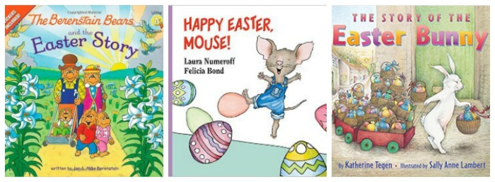 Easter storybooks for kids at Castle View Academy homeschool