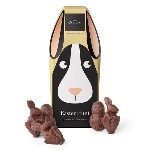 Hotel Chocolat Easter Bunnies Basket