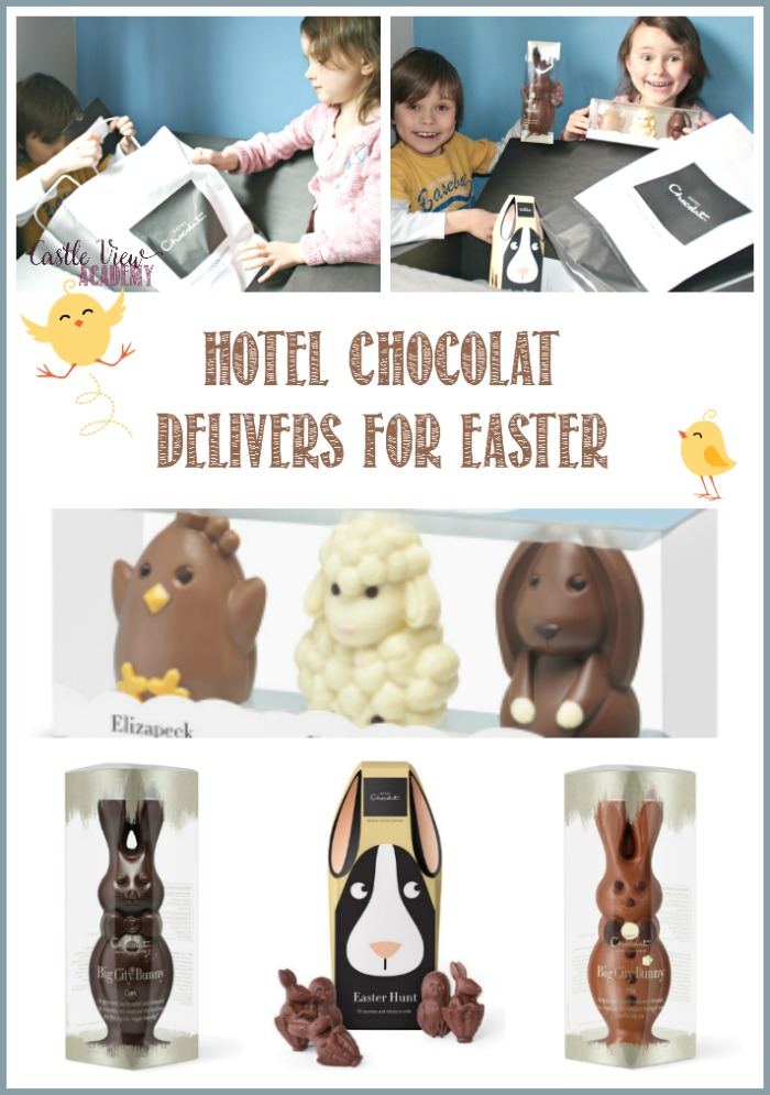 Hotel Chocolat Delivers for Easter, A review by Castle View Academy homeschool