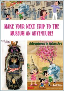 Make your next trip to the museum an adventure with Adventures in Asian Art by Tuttle Publishing, a review by Castle View Academy homeschool
