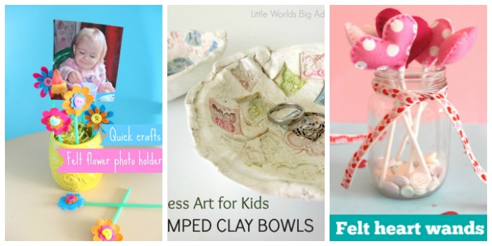 Mother's Day STEAM crafts for kids at Castle View Academy homeschool