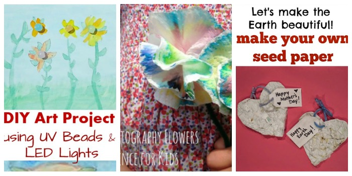 Mother's Day STEM projects for kids at Castle View Academy homeschool