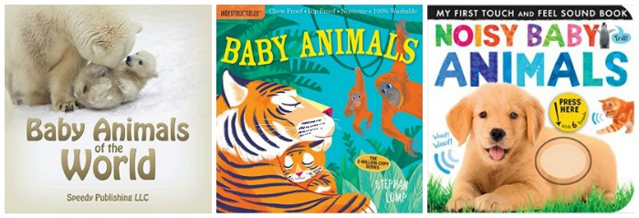 books about animal babies at Castle View Academy homeschool
