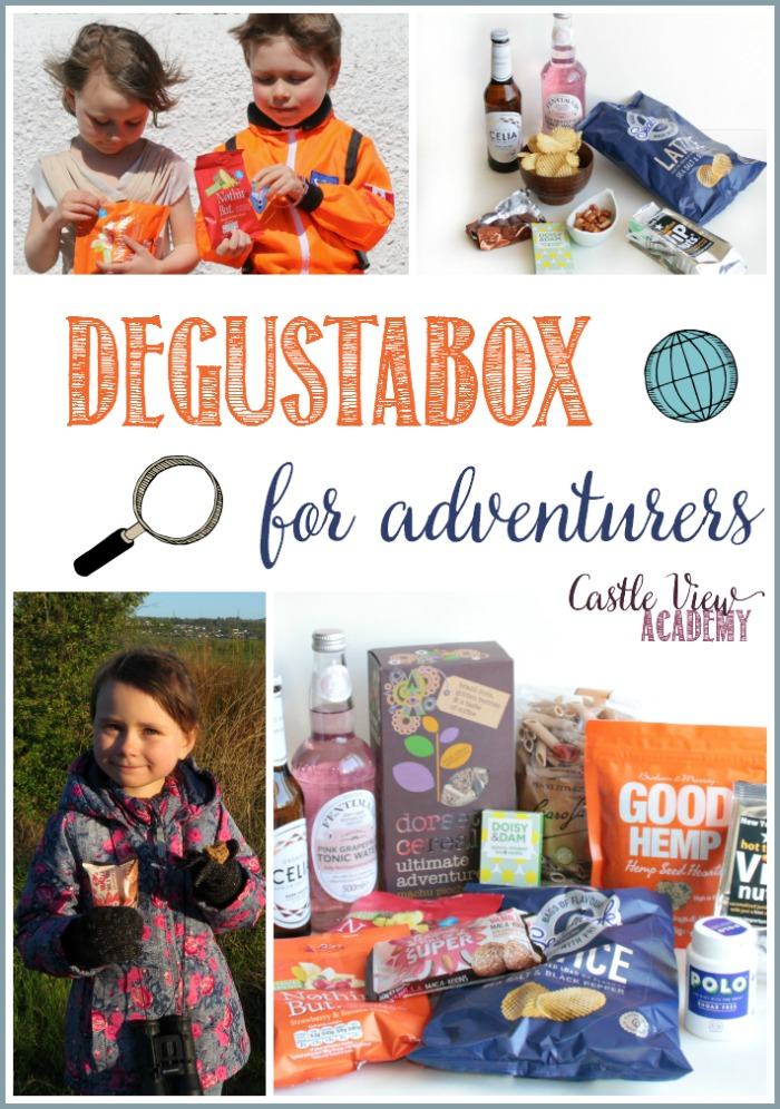 A degustabox for adventurers at Castle View Academy homeschool