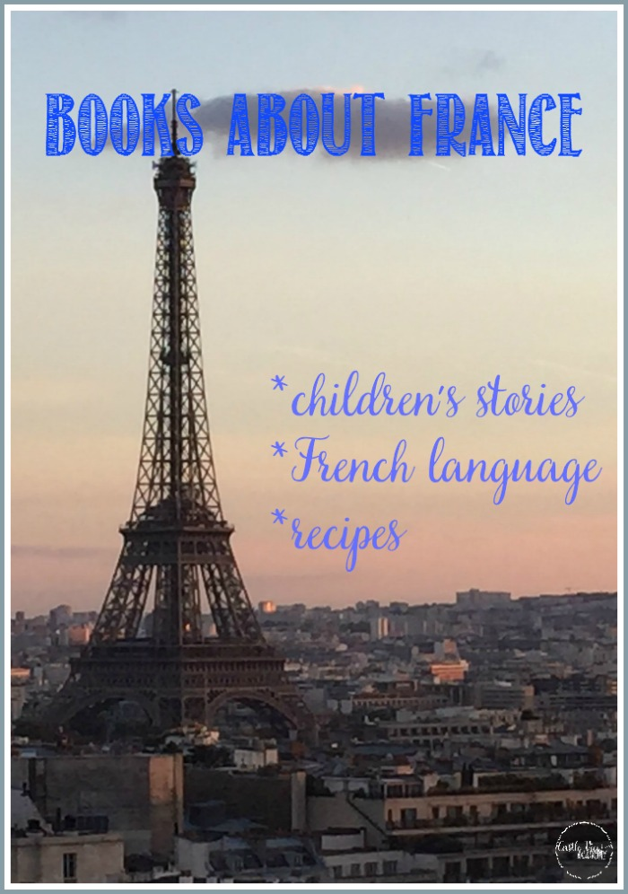 Books about France at Castle View Academy homeschool