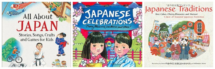 Books about Japan for kids at Castle View Academy homeschool