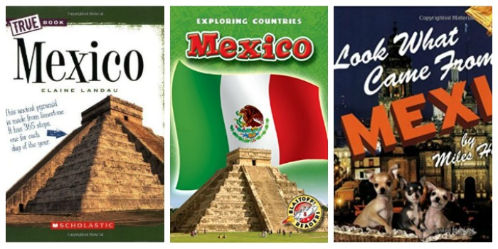 Books about life in Mexico at Castle View Academy homeschool