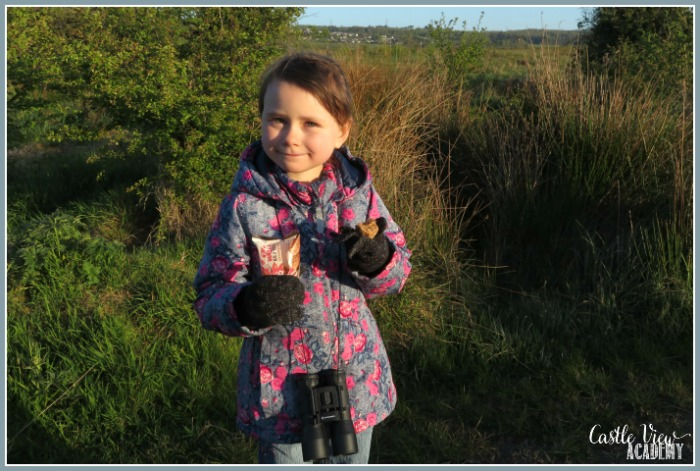 Dawn Chorus with Whitworth's snacks at Castle View Academy homeschool