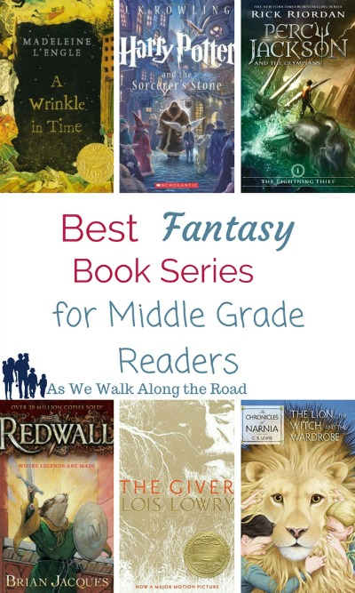 Fantasy books for middle grade readers