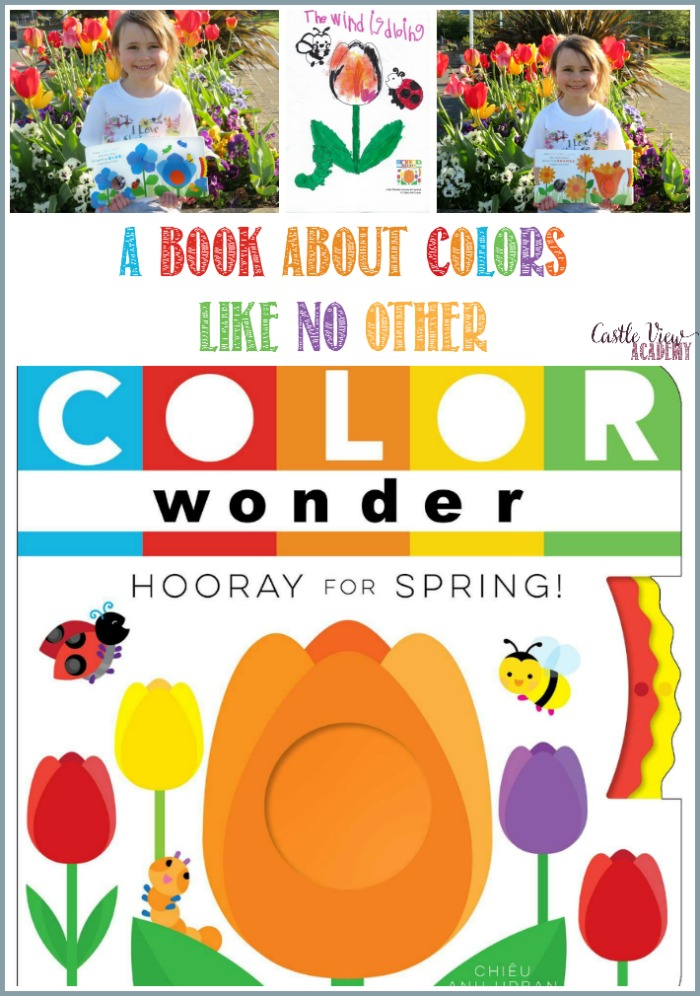Hooray For Spring! A book about colors like no other by Chieu Ahn Urban and reviewed by Castle View Academy homeschool