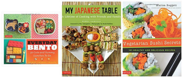 Japanese cookbooks for all ages at Castle View Academy homeschool